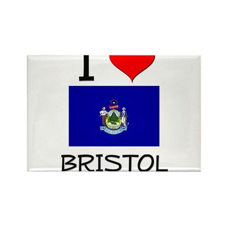 I Love Bristol Maine Magnets