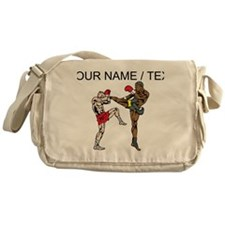 Custom Kickboxing Messenger Bag