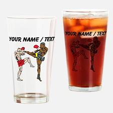 Custom Kickboxing Drinking Glass