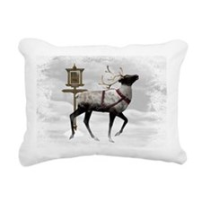 North Pole 2 Rectangular Canvas Pillow