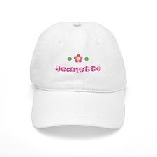 "Pink Daisy - ""Jeanette"" Baseball Cap"