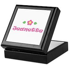 "Pink Daisy - ""Jeanette"" Keepsake Box"