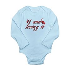 47 and loving it designs Long Sleeve Infant Bodysu