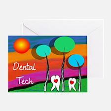 Dental Tech Greeting Cards
