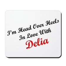 In Love with Delia Mousepad