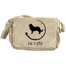 Caucasian Ovcharka Messenger Bag
