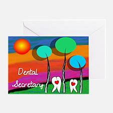 Dental Secretary Greeting Cards