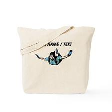 Custom Skydiver Tote Bag