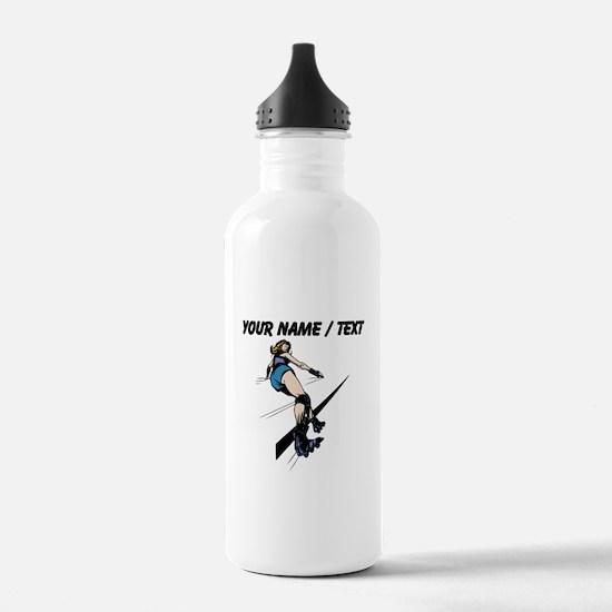 Custom Roller Derby Sports Water Bottle