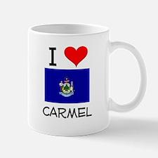 I Love Carmel Maine Mugs