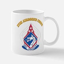 DUI - XVIII Airborne Corps with Text Mug