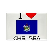 I Love Chelsea Maine Magnets
