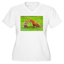 fox friends Plus Size T-Shirt