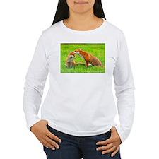 fox friends Long Sleeve T-Shirt