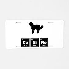 Central Asian Shepherd Aluminum License Plate