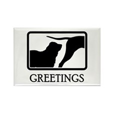 Central Asian Shepherd Rectangle Magnet (10 pack)