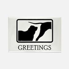 Central Asian Shepherd Rectangle Magnet (100 pack)