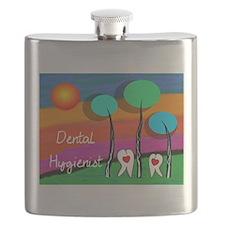 Dental Hygienist Flask
