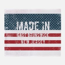 Made in East Brunswick, New Jersey Throw Blanket
