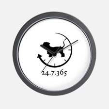 Cesky Terrier Wall Clock
