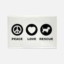 Cesky Terrier Rectangle Magnet (100 pack)