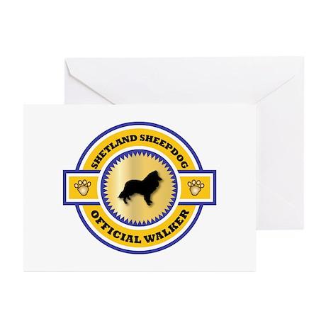 Shetland Walker Greeting Cards (Pk of 10)