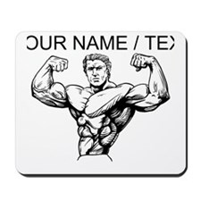 Custom Bodybuilder Mousepad