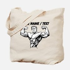 Custom Bodybuilder Tote Bag
