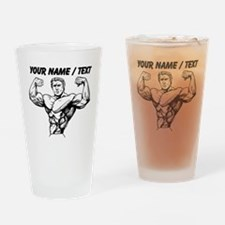 Custom Bodybuilder Drinking Glass