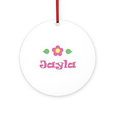 "Pink Daisy - ""Jayla"" Ornament (Round)"