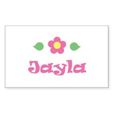 """Pink Daisy - """"Jayla"""" Rectangle Decal"""