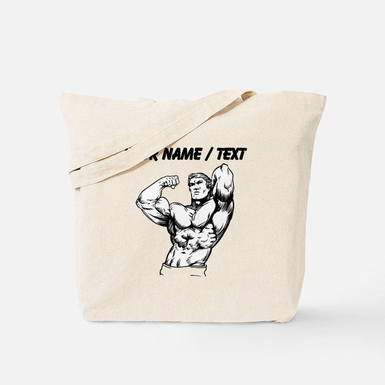 Custom Bodybuilder Tote Bag