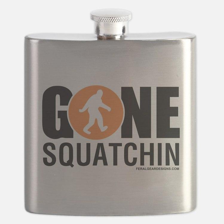 FGD - Gone Squatchin Flask