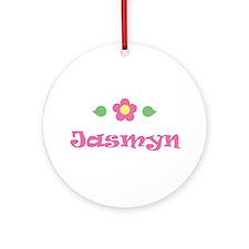 """Pink Daisy - """"Jasmyn"""" Ornament (Round)"""
