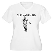 Custom Sprinter Plus Size T-Shirt