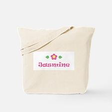 "Pink Daisy - ""Jasmine"" Tote Bag"
