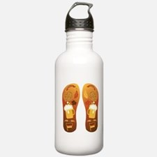 OktoberfestFlipFlops Water Bottle