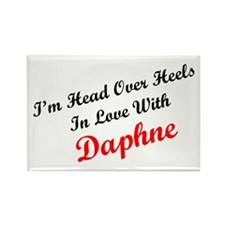 In Love with Daphne Rectangle Magnet