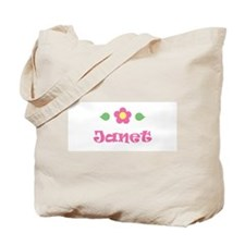 "Pink Daisy - ""Janet"" Tote Bag"