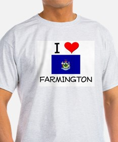 I Love Farmington Maine T-Shirt
