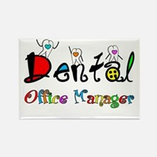 Dental Office Manager 2 Magnets