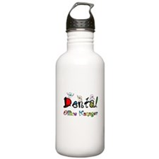 Dental Office Manager 2 Water Bottle