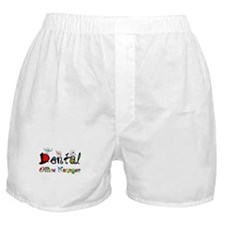Dental Office Manager 2 Boxer Shorts