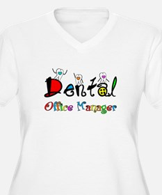 Dental Office Manager 2 Plus Size T-Shirt