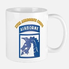 SSI - XVIII Airborne Corps with Text Mug