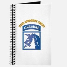 SSI - XVIII Airborne Corps with Text Journal