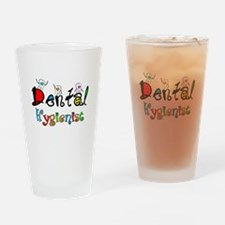 Dental Hygienist 2 Drinking Glass