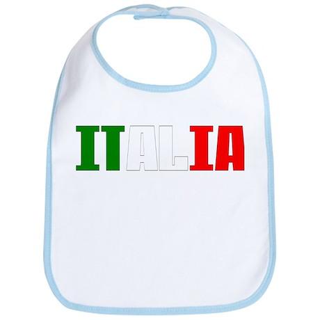 Italia Italian Logo Bib