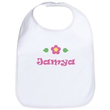 "Pink Daisy - ""Jamya"" Bib"