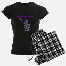 Custom Womens Lacrosse Player pajamas